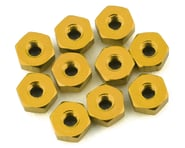 175RC Mini-T 2.0 Aluminum Nut Kit (Gold) (10) | product-related