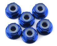 175RC Lightweight Aluminum M3 Flanged Lock Nuts (Blue) (6) | alsopurchased