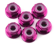 175RC Lightweight Aluminum M3 Flanged Lock Nuts (Pink) (6) | alsopurchased