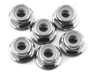 175RC Lightweight Aluminum M3 Flanged Lock Nuts (Silver) (6) | alsopurchased