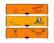 Accurail HO KIT 40' Steel Reef DUBUQ WILSN ART (3) | relatedproducts