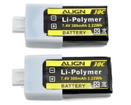 Align 2S1P LiPo Battery 30C (7.4V/300mAh) | product-also-purchased