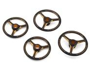AM Arrowmax Black Golden 1/8 On Road Aluminum Set-Up Wheel (4) | relatedproducts