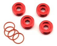 Arrma Aluminum Front Hub Nut (Red) (4) | relatedproducts