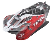 Arrma Typhon 4x4 Mega Pre-Painted Body (Red) | alsopurchased