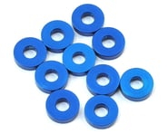Team Associated 7.8x2.0mm Aluminum Bulkhead Washer (Blue) (10) | alsopurchased