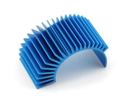 Team Associated Factory Team Aluminum Radial Clip-On Heatsink (Blue) (Long) | relatedproducts
