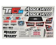 Team Associated T5M Decal Sheet | relatedproducts