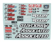 Team Associated RC8T3.2 Decal Sheet | product-related