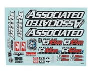 Team Associated RC10 B6.2 Decal Sheet | relatedproducts