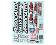Team Associated RC10B6.3 Decal Sheet | product-also-purchased