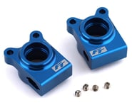Team Associated RC10B74.1 Factory Team Aluminum Rear Hubs (Blue) | relatedproducts