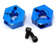 Team Associated 12mm Aluminum Front Clamping Wheel Hex Set (Blue) (2) | relatedproducts