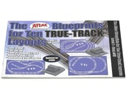 Atlas Railroad Blueprints for 10 True Layouts Book | relatedproducts