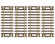 "Atlas Railroad HO-Gauge Code 100 Snap-Track 3"" Straight (4) 