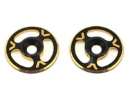 Avid RC Triad Wing Mount Buttons (2) (Black/Gold) | alsopurchased