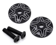 Avid RC 1/8 Wing Mount Button (2) (Black) | relatedproducts