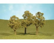 "Bachmann Scenescapes Elm Trees (3) (3-4"") 