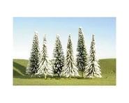 """Bachmann Scenescapes Pine Trees w/Snow (24) (5-6"""") 