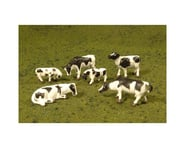 Bachmann SceneScapes Cows (Black & White) (6) (O Scale) | product-related