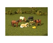 Bachmann SceneScapes Horses (6) (O Scale) | relatedproducts