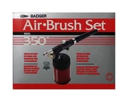 Badger Air-brush Co. 350 Airbrush Set with 3 Heads (F, M, H) | relatedproducts