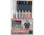 Bandai Gundam Marker Extra Thin Panel Pen Set (6) | alsopurchased