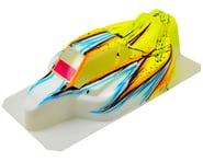 """Bittydesign """"Force"""" Kyosho MP9 TKI2/3/4 1/8 Pre-Painted Buggy Body (Wave/Yellow) 