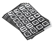 Bittydesign Race Number Decal Sheet (Medium Pack - 5 Sheet) | relatedproducts