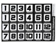 Bittydesign Race Number Decal Sheet (34x24cm) | alsopurchased
