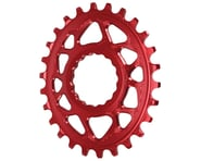 Absolute Black Direct Mount Race Face Cinch Oval Ring (Red) | relatedproducts