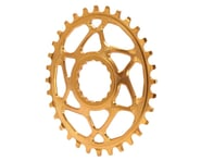 Absolute Black Direct Mount Race Face Cinch Oval Ring (Gold) (32T) | relatedproducts