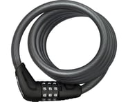 Abus Star 4508 Combination Coiled Cable Lock (Black) (150cm x 8mm) | relatedproducts