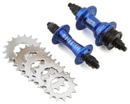 "ACS MainDrive Cassette Hub Set (Blue) (3/8"") (36H) 