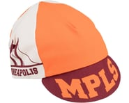 All-City Hennepin Bridge Cycling Cap (Maroon/Orange) (One Size) | alsopurchased