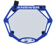 Answer 3D BMX Number Plate (Blue) | product-related
