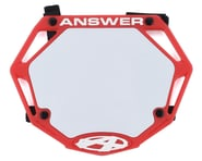 Answer 3D BMX Number Plate (Red) | relatedproducts