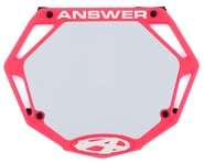 Answer 3D BMX Number Plate (Pink) (Pro)   alsopurchased