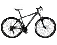 """Batch Bicycles 27.5"""" Hardtail Mountain Bike (Matte Pitch Black) 