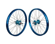 "Black Ops DW1.1 20"" Wheel Set (Blue/Silver/Blue) (3/8"" Axle) 