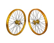 "Black Ops DW1.1 20"" Wheel Set (Gold/Black/Gold) (3/8"" Axle) (20 x 1.75"") 