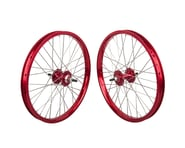"Black Ops DW1.1 20"" Wheel Set (Red/Silver/Red) (3/8"" Axle) 