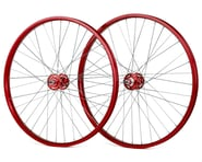 "Black Ops DW1.1 26"" Wheels (Red/Silver/Red) 