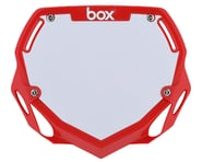 Box Two Number Plate (Red) | product-related