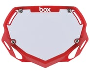 Box Two Number Plate (Translucent Red) | product-also-purchased