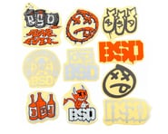 BSD Sticker 10 Pack (2021) | alsopurchased