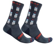 Castelli Men's Pazzo 18 Socks (Savile Blue) | relatedproducts