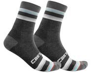 Castelli Striscia 13 Women's Socks (Dark Grey) | alsopurchased