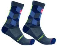 Castelli Unlimited 15 Sock (Dark Steel Blue) | alsopurchased