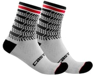 Castelli Avanti 12 Sock (Black/White) | relatedproducts